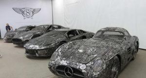 mobil mewah dari besi bekas
