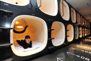 hotel kapsul Jepang