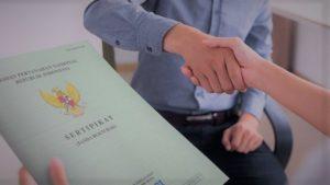 mengajukan pinjaman dengan sertifikat rumah