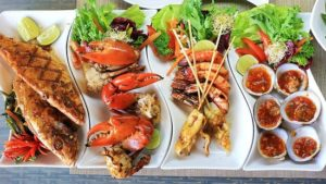 makanan laut enak