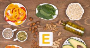 makanan tinggi kandungan vitamin E