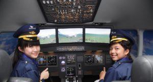 pengalaman terbang tak terlupakan di Kidzania
