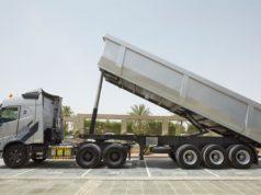 trailer pada truk