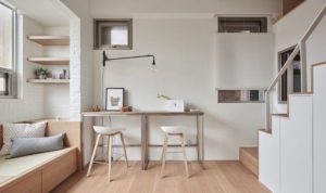 furniture dalam apartemen studio