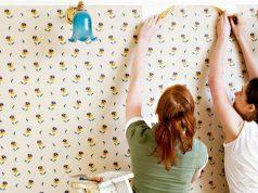 tips melepaskan wallpaper dinding
