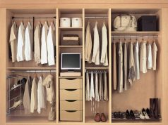 jenis lemari pakaian