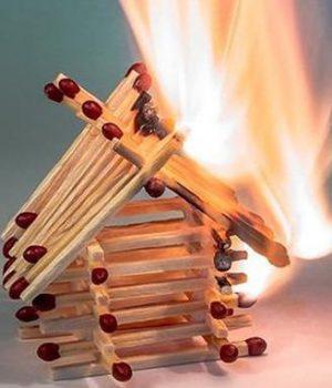 cegah kebakaran di rumah