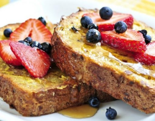 french toast selai jeruk