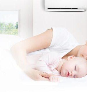 AC untuk kamar bayi