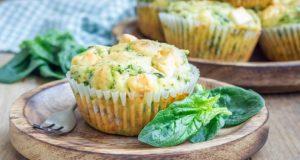 muffin bayam